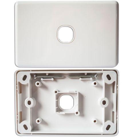 CERTECH Single Port Wall Plate