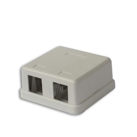 Dual Port Unequipped Surface Mount Box