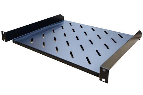 """1RU 19"""" Cantilever Shelf, 400mm Deep"""