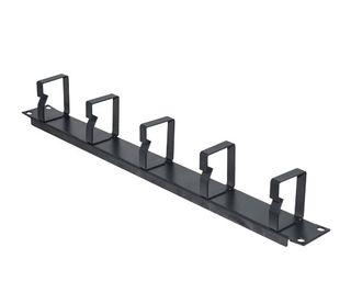 """CERTECH 19"""" 1RU Metal Cable Management Bar, 55mm Deep"""