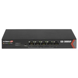 EDIMAX Long Range 5 Port Gigabit Web Managed Switch with 4 PoE+ Ports