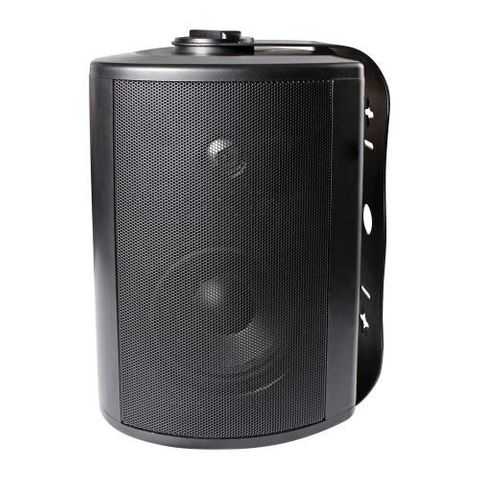 """LUMI AUDIO 5.25"""" Powerful Bass Weather-Resistant Wall Speaker with 70/100 Volt Transformer"""