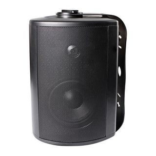 "LUMI AUDIO 5.25"" Powerful Bass Weather-Resistant Wall Speaker with 70/100 Volt Transformer"