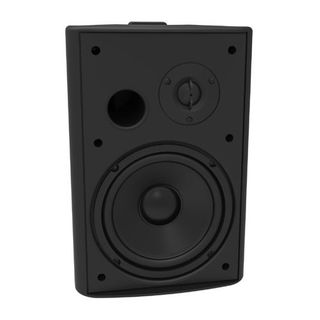 "LUMI AUDIO 6.5"" Bass Reflex On-Wall Speaker, Black"
