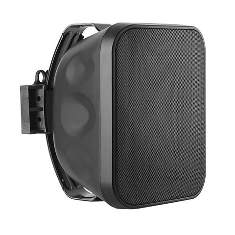 """LUMI AUDIO 5.25"""" High Performance Weather-Resistant Wall Speaker with Dual-Axis Mounting Bracket"""