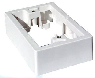 CERTECH Wall Plate Surface Mounting Block, 13mm