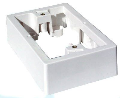 CERTECH Wall Plate Surface Mounting Block, 35mm