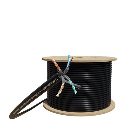 CERTECH 305M Cat6A U/FTP Solid Gel Filled Cable Roll