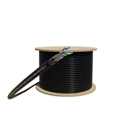 CERTECH 305M Cat6A S/FTP Shielded External Cable Roll