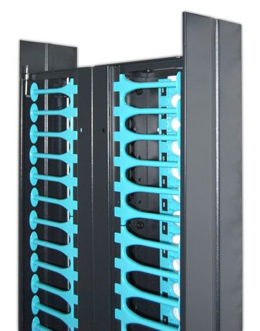 CERTECH 47RU Dual 300mm Wide Cable Management Ducts