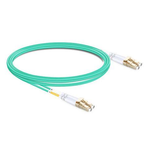 CERTECH LC-LC OM4 Duplex Fibre Patch Lead 1m