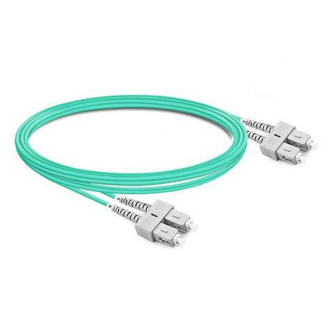 CERTECH SC-SC OM3 Duplex Fibre Patch Lead 0.5m