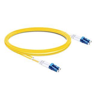 CERTECH LC-LC OS2 Duplex Fibre Patch Lead 0.5m