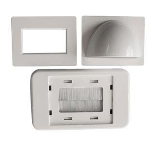 CERTECH Dual Bull Nose & Flush Brush Plate