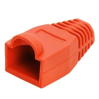 RJ45 Strain Relief Boot - 20pc Bag - Red
