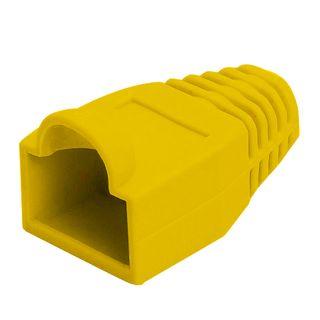 RJ45 Strain Relief Boot - 20pc Bag - Yellow