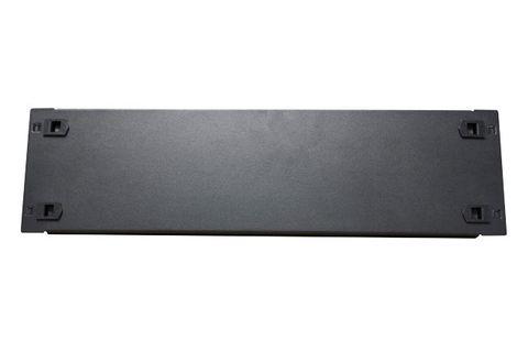 3RU Snap-In Metal Blanking Panel