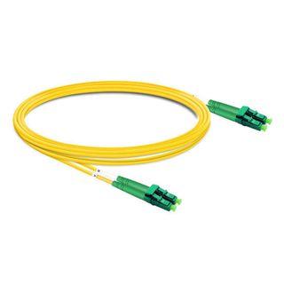 CERTECH LC/APC-LC/APC OS2 Duplex Fibre Patch Lead 1m