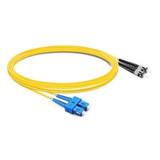 CERTECH SC-ST OS2 Duplex Fibre Patch Lead 0.5m