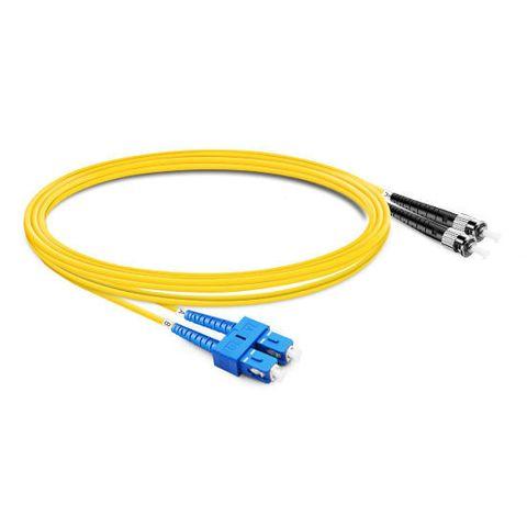 CERTECH SC-ST OS2 Duplex Fibre Patch Lead 2m