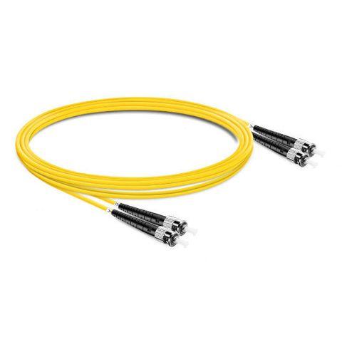 CERTECH ST-ST OS2 Duplex Fibre Patch Lead 0.5m