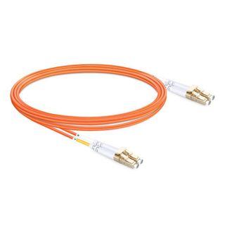 CERTECH LC-LC OM1 Duplex Fibre Patch Lead 0.5m