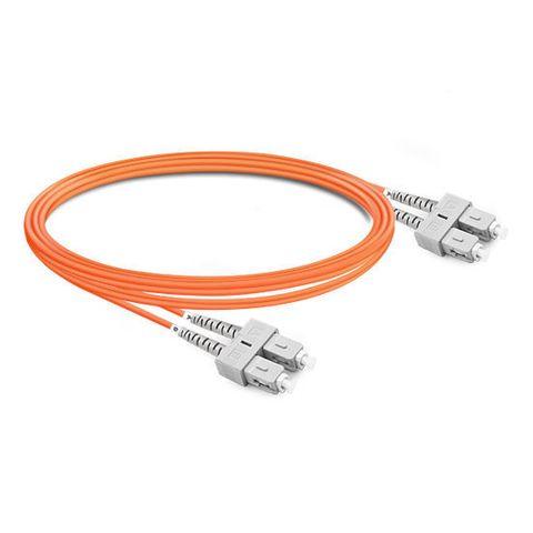 CERTECH SC-SC OM1 Duplex Fibre Patch Lead 0.5m