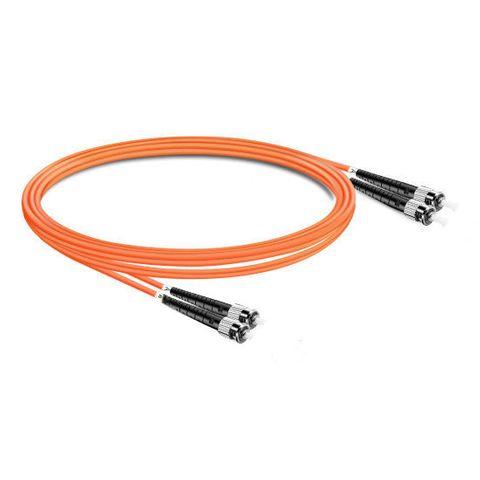CERTECH ST-ST OM1 Duplex Fibre Patch Lead 2m
