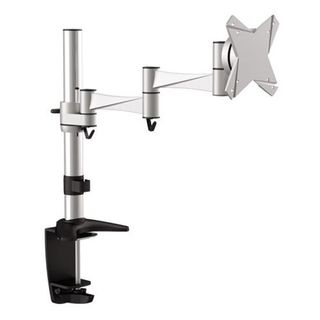 Brateck Single Flexi Arm Monitor Mount. Supports VESA 75x75 & 100x100