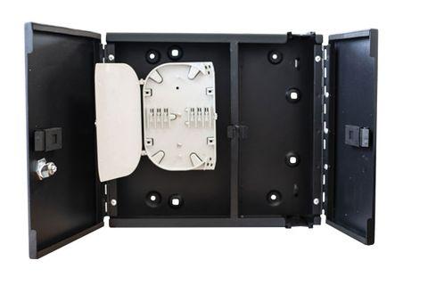 48 Core Lockable Fibre Wall Enclosure
