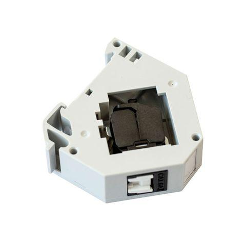 DIN Mount RJ45 Socket, Cat6A UTP w/ Dust-Prevention Shutter