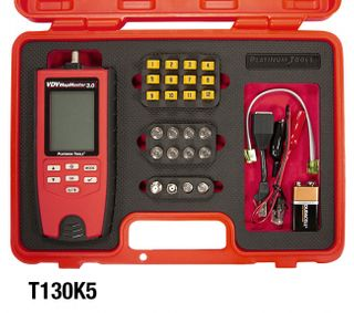 Platinum Tools VDV MapMaster 3.0 Network & Coax Cable Tester Field Kit w/ Durable Case