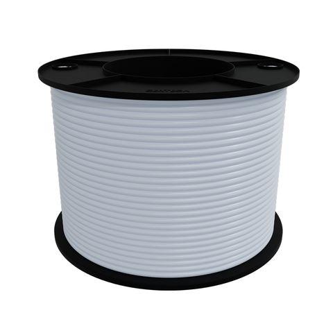 Figure 8 Cable 100m, 24/020, White LSZH Jacket w/ Black Stripe