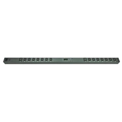 Switched Vertical PDU (14)C13 (2)C19 Outlet (1)RJ45, 16A 230V IEC320 C20 Plug