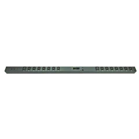 Switched Vertical PDU (14)C13 (2)C19 Outlet (1)RJ45 (1)RJ11, 32A 230V IEC309 Plug