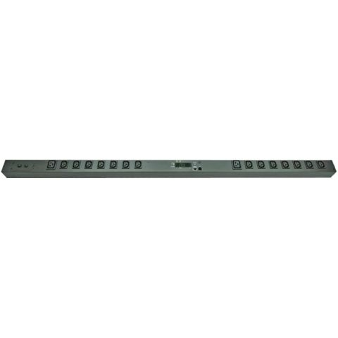 Monitored Vertical PDU (14)C13 (2)C19 Outlet (1)RJ45 (1)RJ11, 32A 230V IEC309 Plug