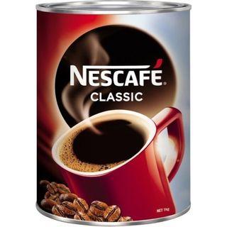NESCAFE CLASSIC GRANULATED COFFEE TIN 500G