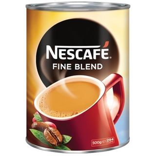 NESCAFE FINE BLEND SMOOTH COFFEE TIN 500G