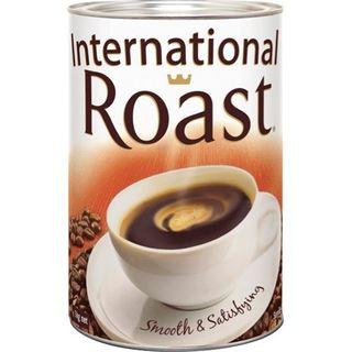 INTERNATIONAL ROAST FINE BLEND COFFEE TIN 1KG
