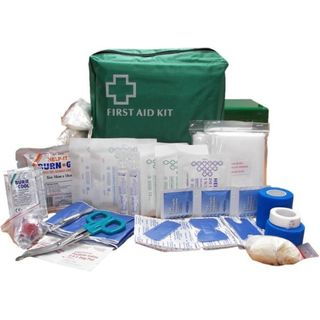 FIRST AID KIT SMALL CATERING IN GREEN BAG - FAKFOOD1