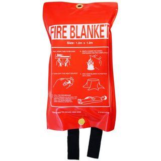 HELP-IT 'BLAZE BREAKER' FIRE BLANKET AS/NZS STANDARD 1.8M X 1.2M