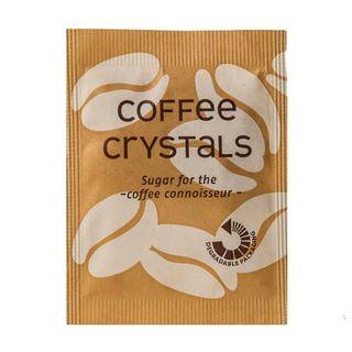 CAFE STYLE COFFEE CRYSTAL SUGAR SACHETS 1000S - HPS3