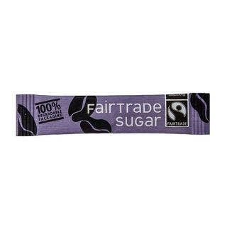 CAFE STYLE 'FAIRTRADE' WHITE SUGAR STICKS 2000S - HPS7