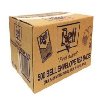 BELL TEA BAGS ENVELOPED 500S