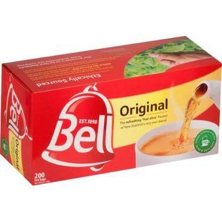 BELL TEA BAGS TAGLESS 200S