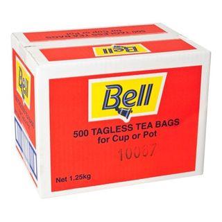 BELL TEA BAGS TAGLESS 500S