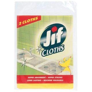 JIF BALLERINA CLEANING CLOTH 2S