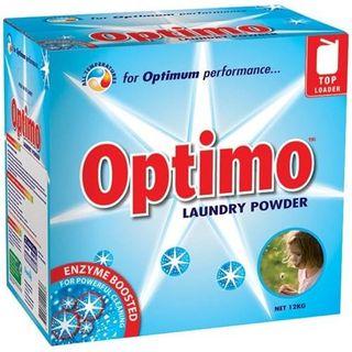 OPTIMO TOP LOADER LAUNDRY POWDER BOX 12KG  (MPI C33)