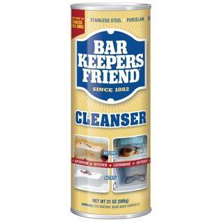BAR KEEPERS FRIEND CLEANSER & POLISH POWDER 595G