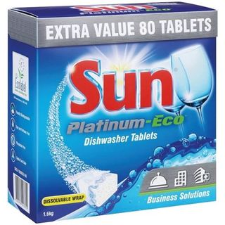 SUN PLATINUM ECO DISHWASHER TABLETS 80S (MPI C101-82)